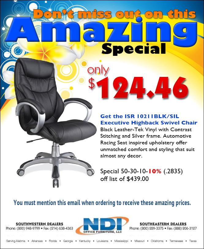 NDI Office Furniture Web Advertisement