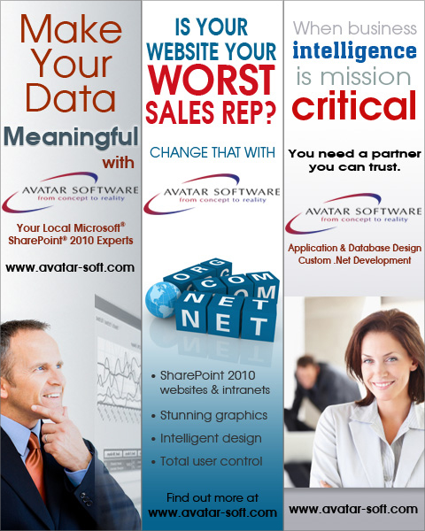 Avatar Software Web Ads