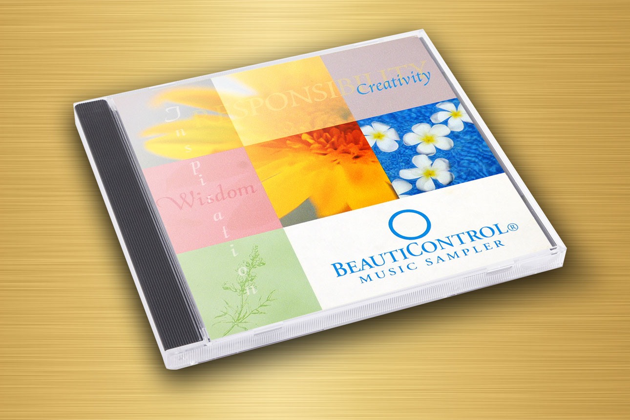 Beauty Control CD Cover Design by Rimshot Creative