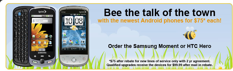 NationLink Wireless Bee-the-Talk-of-the-Town Web Ad by Rimshot Creative