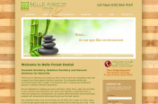 Belle Forest Dental Website by Rimshot Creative