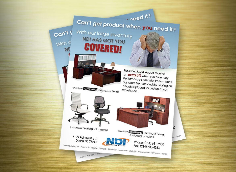 NDI Office Furniture Promotional Flyer