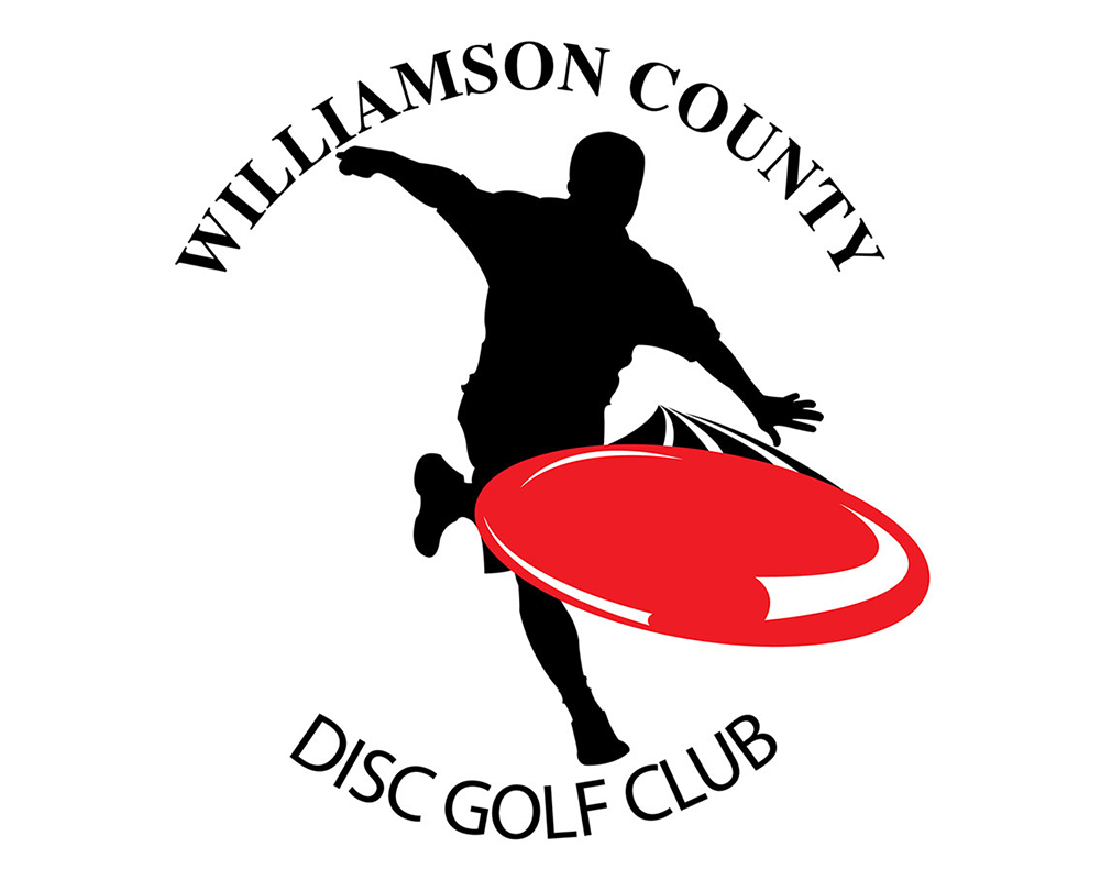 Williamson County Disc Golf Club Logo by Rimshot Creative