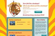 Dumb Ass Club Website by Rimshot Creative