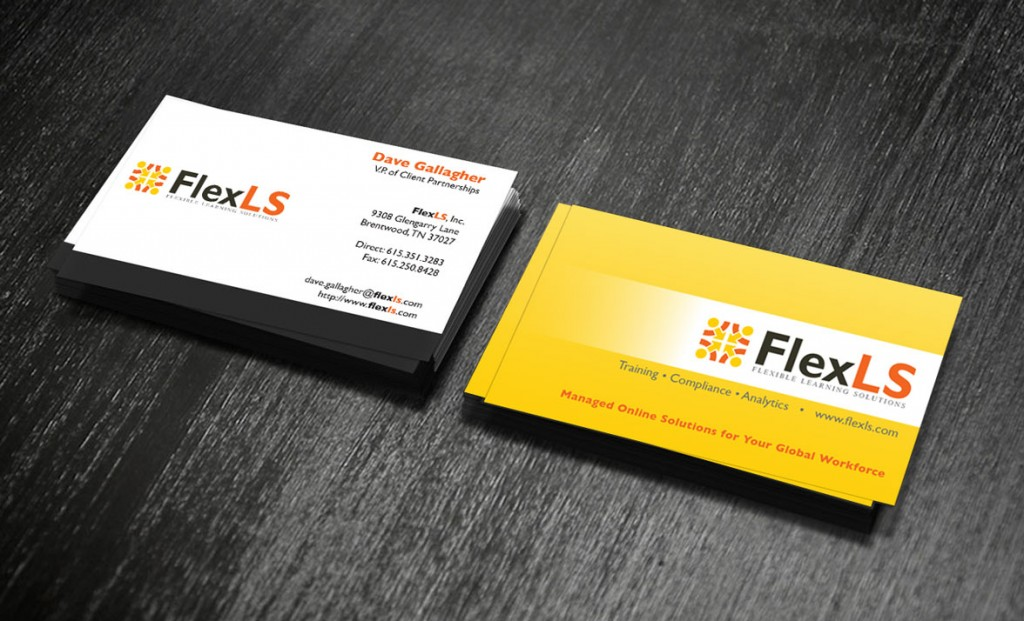 FlexLS Business Cards by Rimshot Creative