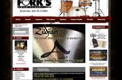 Forks Drum Closet Website