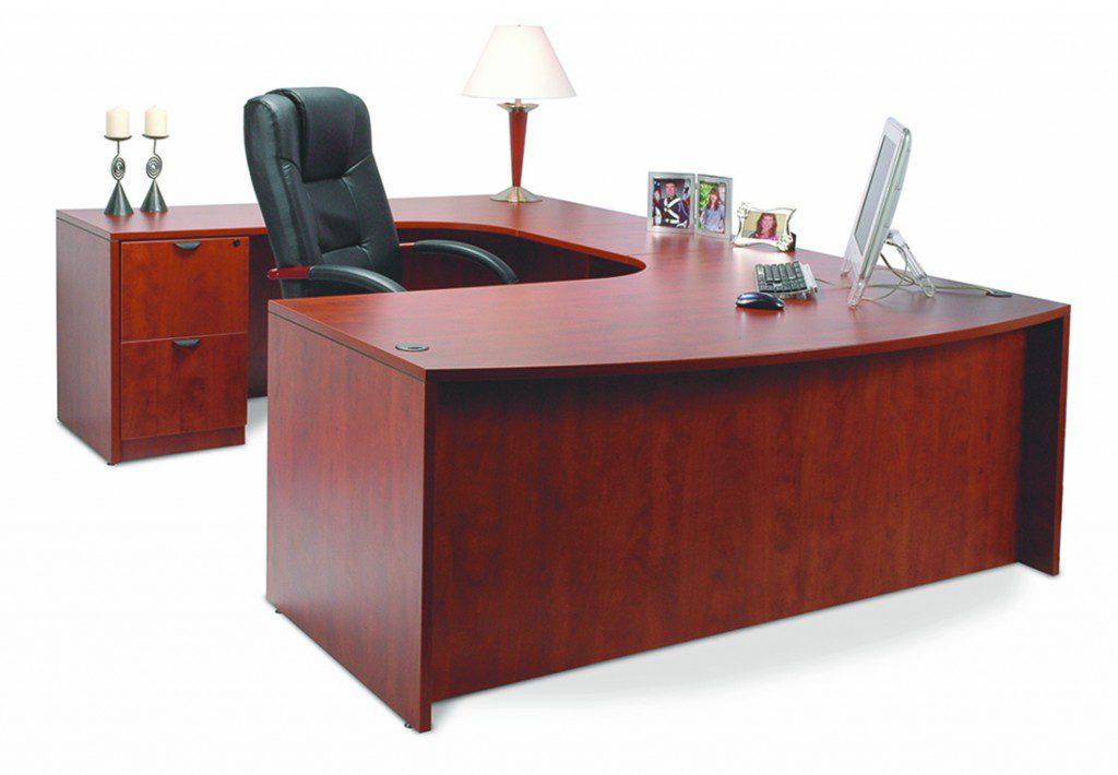 Isaac Rogers PL double porkchop desk