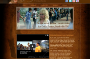 Jenny Cain Productions Website by Rimshot Creative