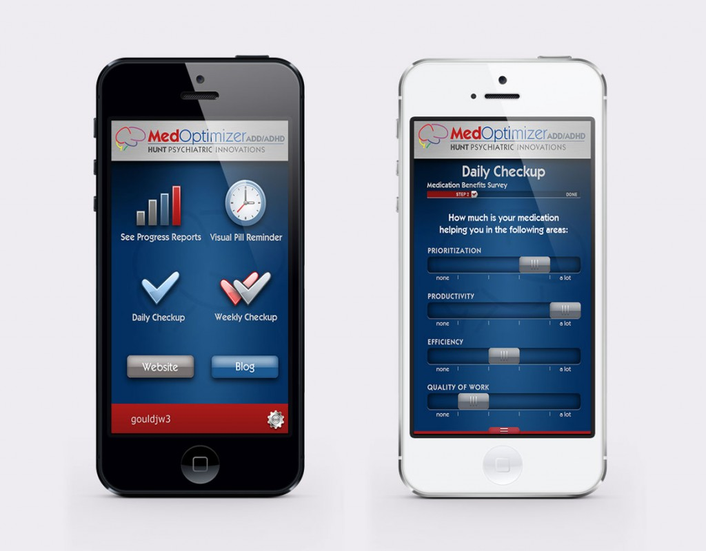 Med-Optimizer Mobile App Design by Rimshot Creative