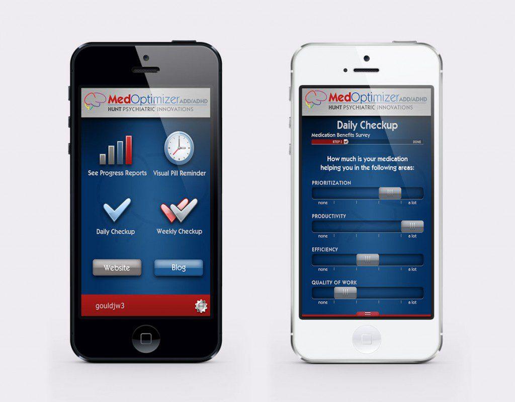 Med-Optimizer Mobile App Design by Rimshot Creative