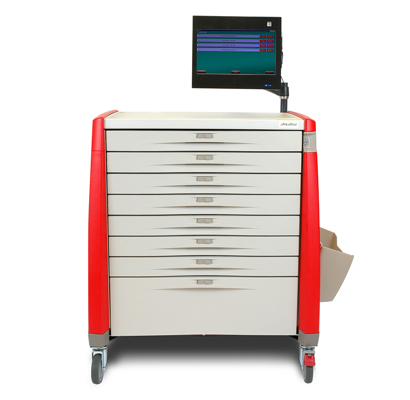 New Day Pharmacy Med Cart Photo by Rimshot Creative