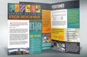 National Association of African American Musicians Brochure by Rimshot Creative