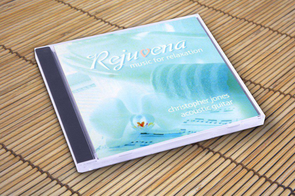 Rejuvina CD cover by Rimshot Creative