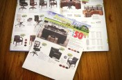 NDI Office Furniture Sale Flyer by Rimshot Creative