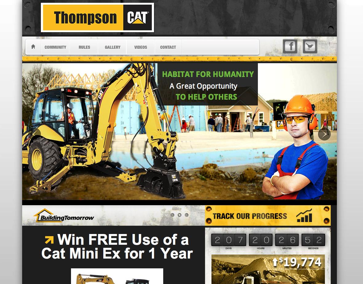 Thompson Cat Community Website
