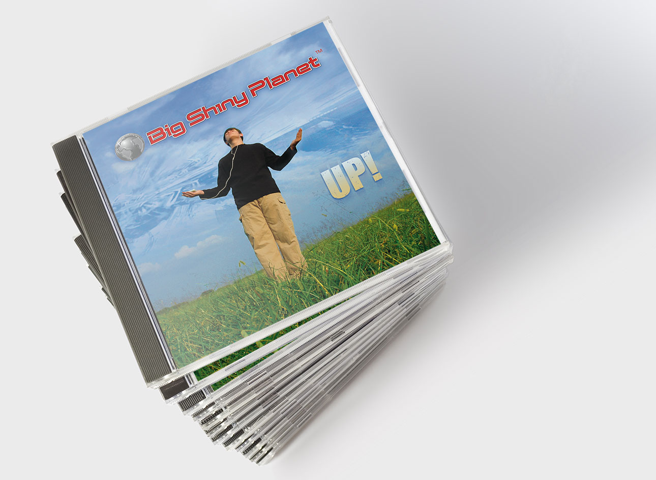 UP! CD Cover Design by Rimshot Creative