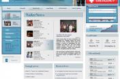 Waller Lansden Dortch & Davis, LLP Intranet Site Design by Rimshot Creative