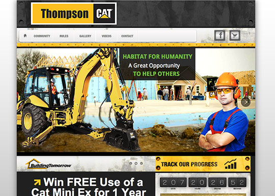 Thompson Cat Community website