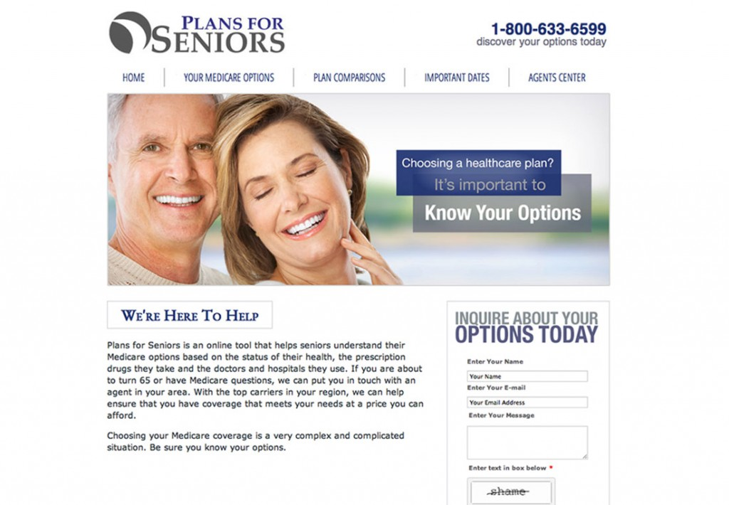 Plans For Seniors Website