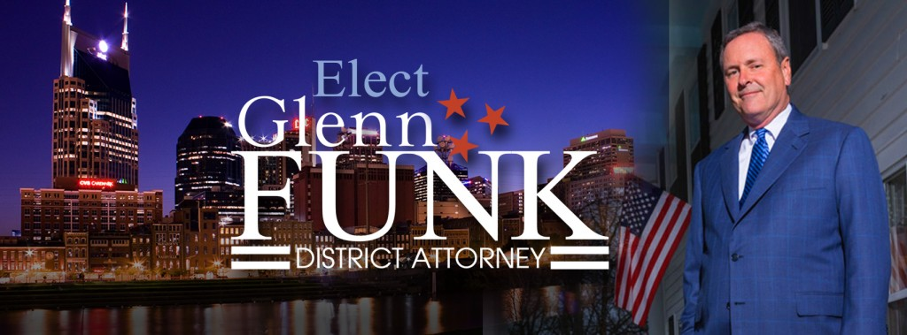 Glenn Funk for District Attorney Facebook Banner created by Rimshot Creative