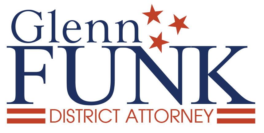 Glenn Funk for District Attorney Logo By Rimshot Creative