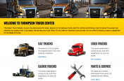 Thompson Truck Center Website