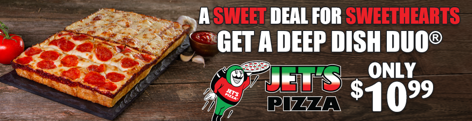 Jets Pizza 970×250 Billboard
