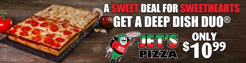 Jets Pizza 970×250 Billboard