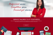 A+ Bookkeeping Website Design